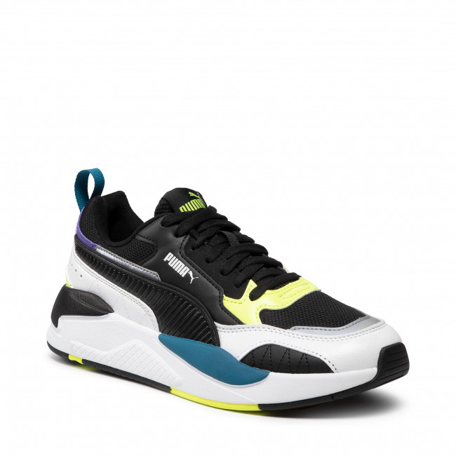 Sneakers PUMA - X-Ray 2 Square 373108 01 White/Black/F Yellow/D Blue