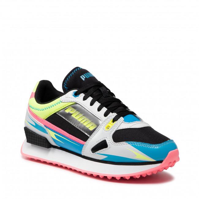 Sneakers PUMA - Mile Rider Sunny Gataway Wns 373443 03 Fizzy Yellow/Glacier Gray