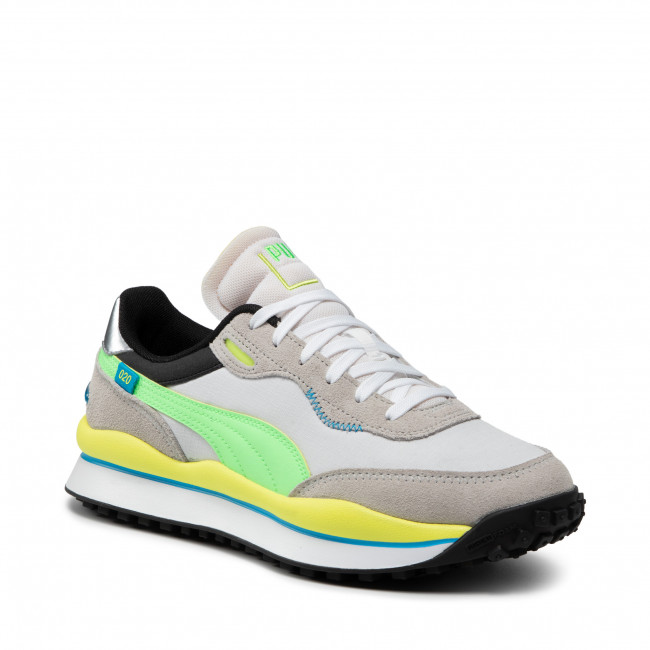 Sneakers PUMA - Style Rider Play On 371150 07 Gray Violet/ElekGreen/White