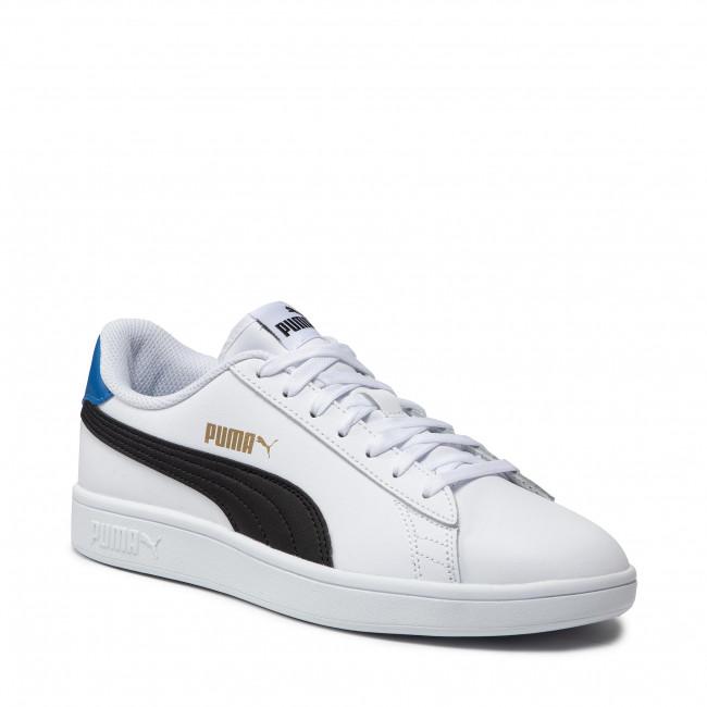 Sneakers PUMA - Smash V2 L 365215 33 White/Black/Gold/Royal