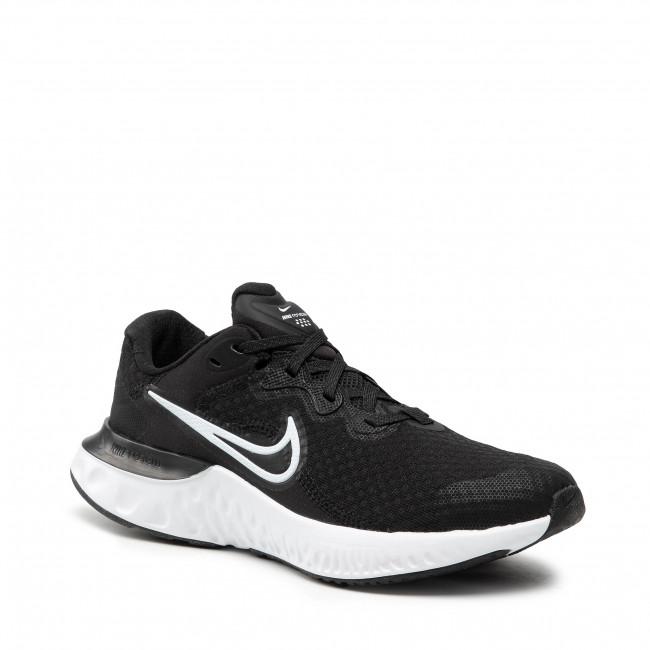 Scarpe NIKE - Renew Run 2 (GS) CW3259 005 Black/White/Dk Smoke Grey