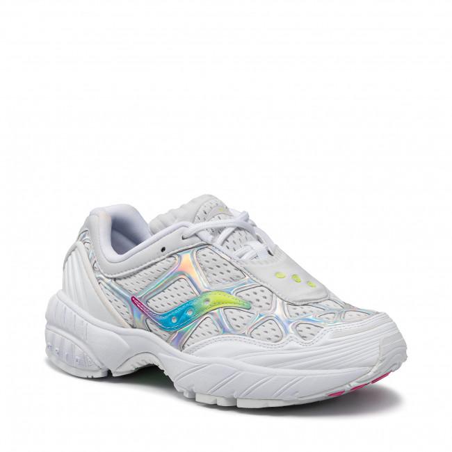 Sneakers SAUCONY - Grid Web S70492-1 Wht/Iri 1