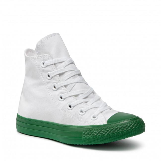 Scarpe da ginnastica CONVERSE - Ctas Hi 156766C White/Green/Black