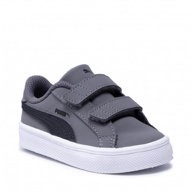 Sneakers PUMA - Smash Vulc Inf 370706 03 Steel Gray/P Black/P White