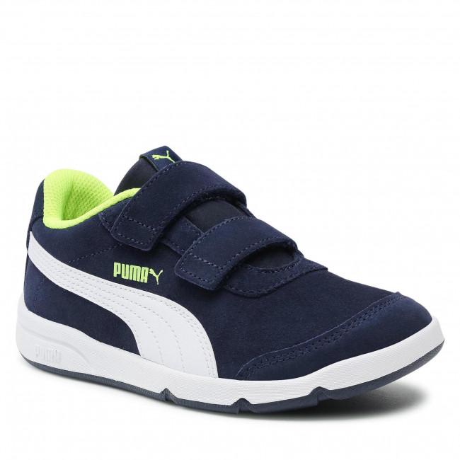 Sneakers PUMA - Stepfleex 2 Sd V Ps 371227 07 Peacoat/White/Yellow Alert