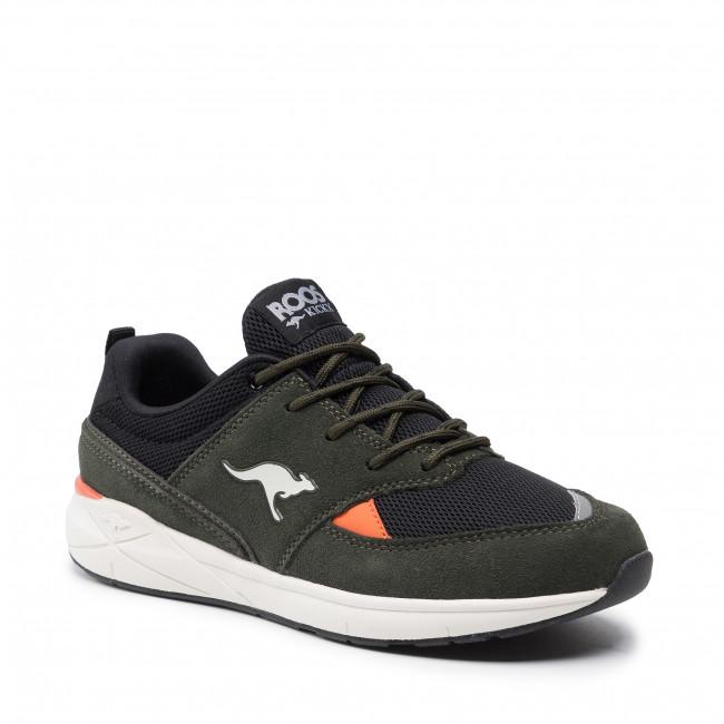 Sneakers KANGAROOS - Lites 19047 000 8010 Olive/Jet Black