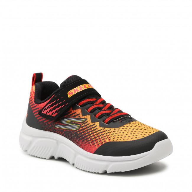 Sneakers SKECHERS - Norvo 405035L/BKRD Black/Red