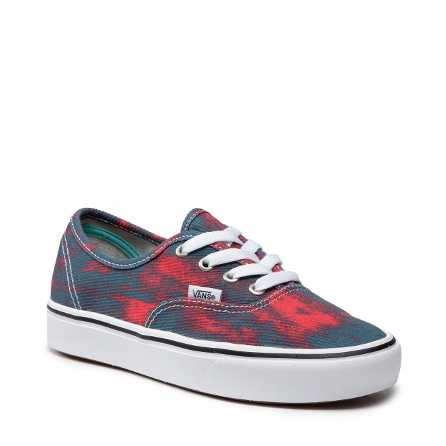 Scarpe sportive VANS - Comfycush Authent VN0A3WM747C1 (In Bloom)Blue/Red