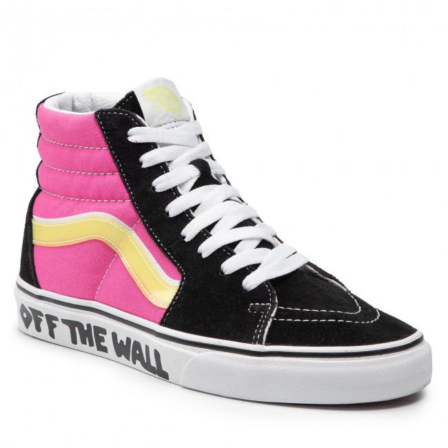 Sneakers VANS - Sk8-Hi VN0A4U3C2G61 Black/Carmine Rose/Tr Wht