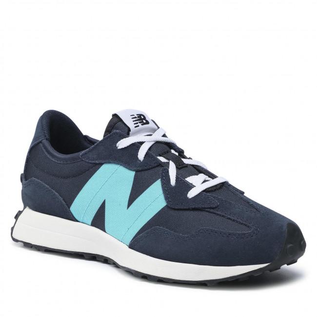 Sneakers NEW BALANCE - GS327FD Blu scuro