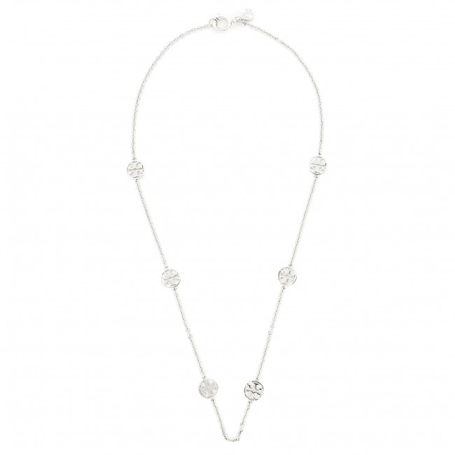 Collana TORY BURCH - Delicate Logo Necklace 37419 Tory Silver 022