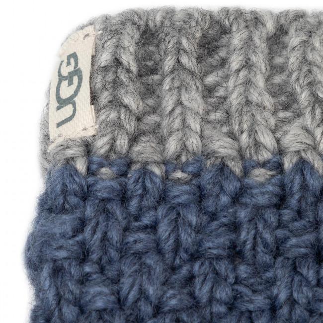 Set di Cappello e Guanti UGG - K Infant Knit Hat And Mitt Set 18802 Ensign Blue - Set - Accessori