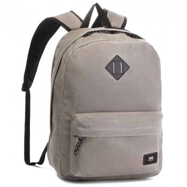 vans old skool plus backpack frost grey
