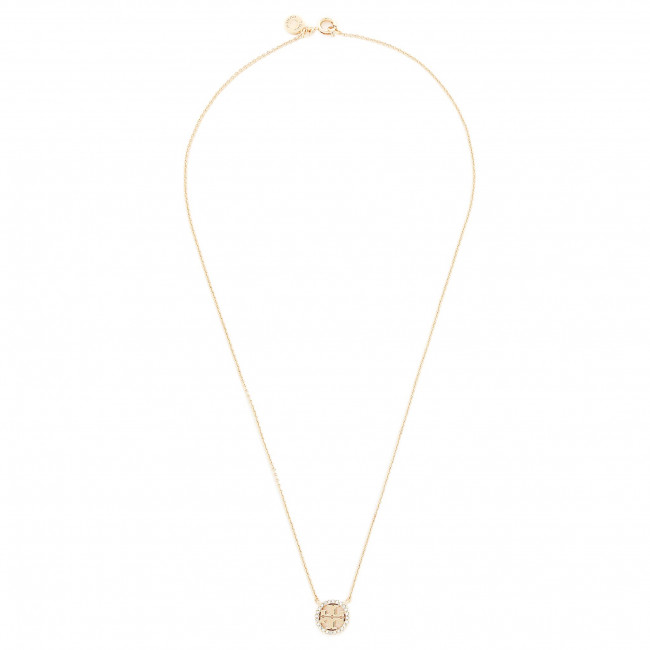 Collana TORY BURCH - Crystal Logo Delicate Necklace 53420 Tory Gold 783