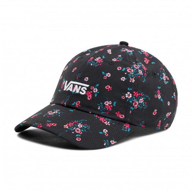 Cappello con visiera VANS - Court Side Printed Hat VN0A34GRZX31 Beauty Floral Black