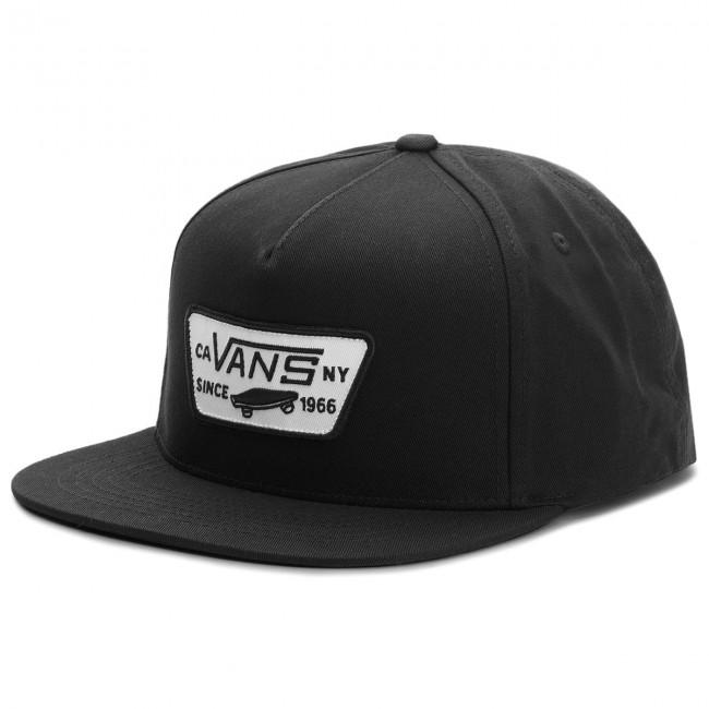 Cappello con visiera VANS - Full Patch Snap VN000QPU9RJ True Black