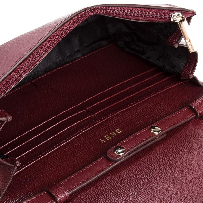 Borsa DKNY - Bryant Wallet On A String R8353622 Blood Red XOD - Borse a tracolla - Borse