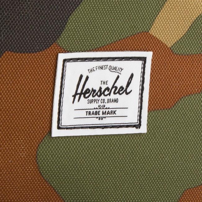 Zaino HERSCHEL - Retreat M 10329-01832 Woodland Camo/Black/White - Porta PC - Pelletteria - Accessori