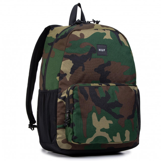 Zaino HUF - Standard Issue Bag AC00449 Woodland Camo