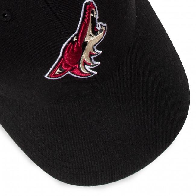 Cappello con visiera 47 BRAND - Nhl Arizona Coyotes '47 Mvp H-MVP21WBV-BK Black - Uomo - Cappelli - Accessori tessili - Accessori
