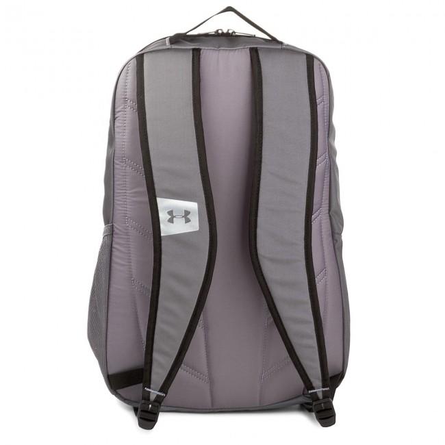 Zaino UNDER ARMOUR - Ua Hustle Backpack 1273274-040 Ldwr/Gph/Gph/Slv - Borse e zaini sportivi - Accessori