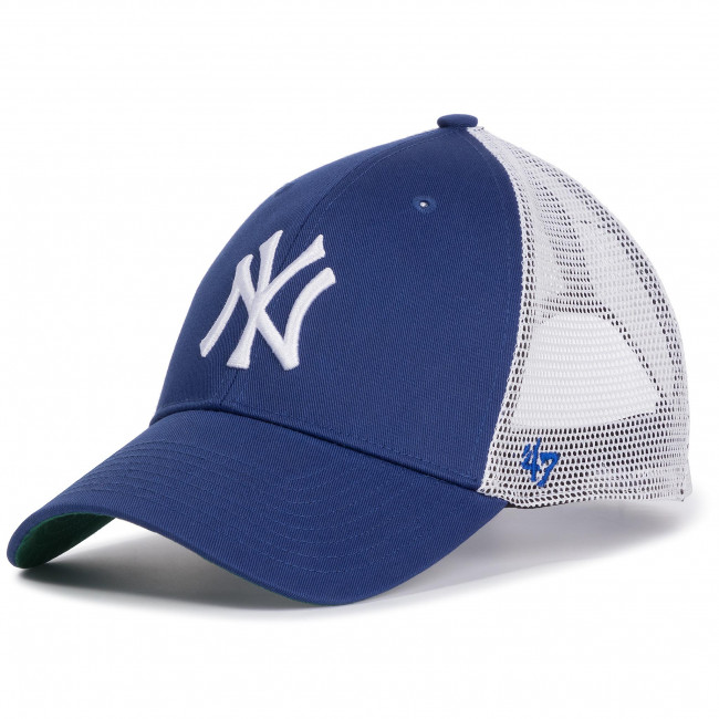New B Brand 47 Con ry York Tessili brans17ctp Accessori Cappello Cappelli Yankees Royal Donna Visiera WYEHID29