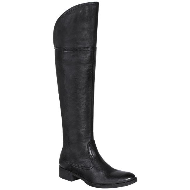 Stivali sopra il ginocchio geox escarpe it neri pelle
