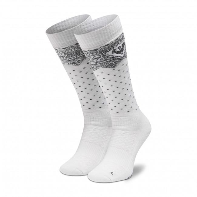Calzini lunghi da donna ROSSIGNOL - W Sportchic RLIWX01 White 100