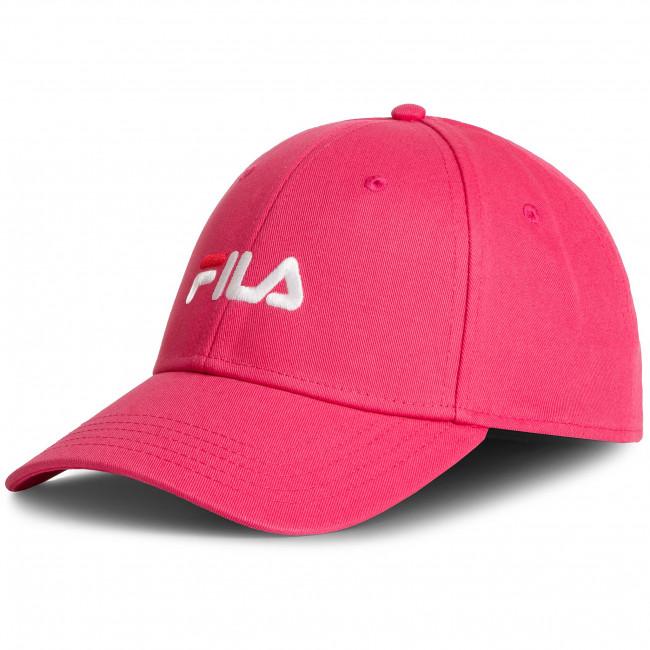 colore veloce garanzia di alta qualità ufficiale Cappello con visiera FILA - 6 Panel Cap Strap Back Linear Logo 686029  Honeysuckle A031