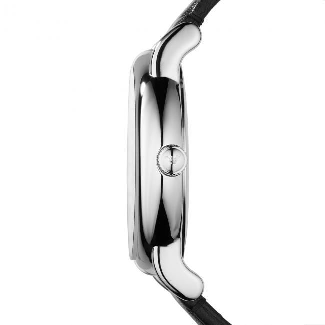 Armani silver Orologio Accessori Uomo steel Luigi Black Emporio Orologi Ar1692 Aj4qc3RS5L