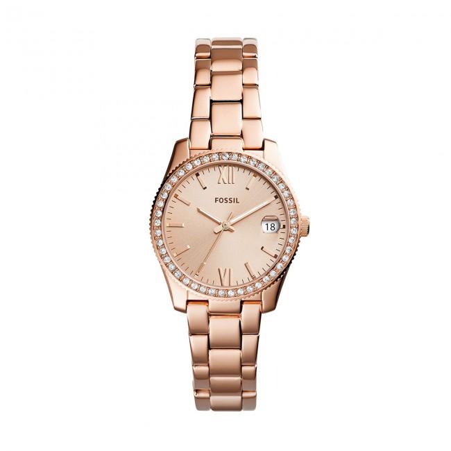 Orologio FOSSIL - Scarlette ES4318 Rose Gold/Rose Gold