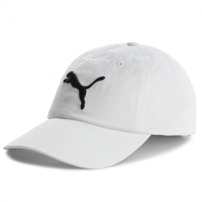 Cappello con visiera PUMA Ess Cap 052919 White 02