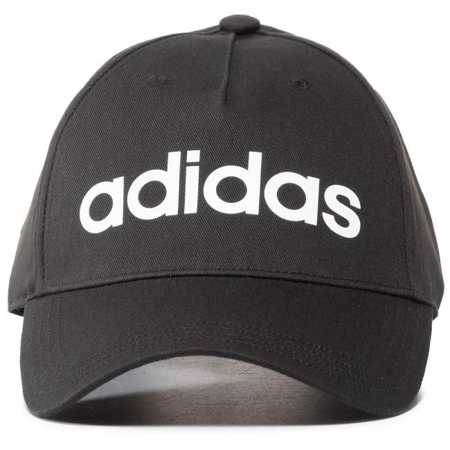 Cappello con visiera adidas - Daily Cap DM6178 Black/White - Donna - Cappelli - Accessori tessili - Accessori
