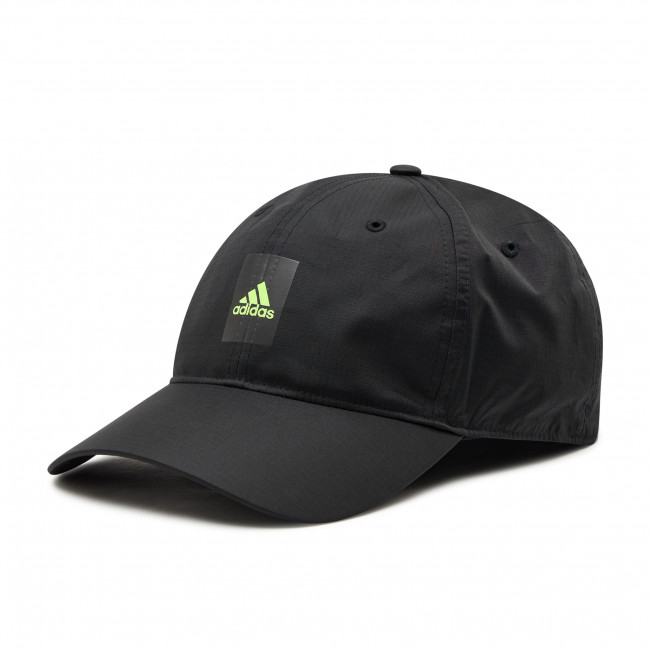 Cappello con visiera adidas - Lightweight Cap GN2002 Black/Syello