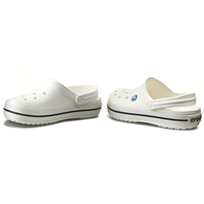 Ciabatte CROCS - Crocband 11016 White - Ciabatte da giorno - Ciabatte - Ciabatte e sandali - Donna