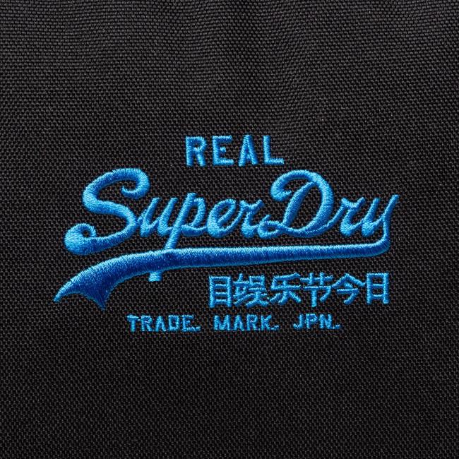 Zaino SUPERDRY - Logo Montana M9110029A Black 02A - Borse e zaini sportivi - Accessori