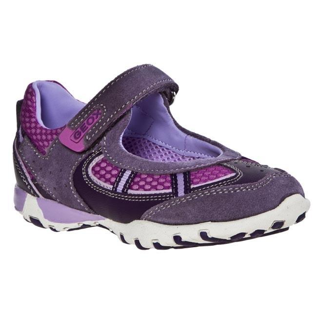 Scarpe basse geox escarpe it viola pelle
