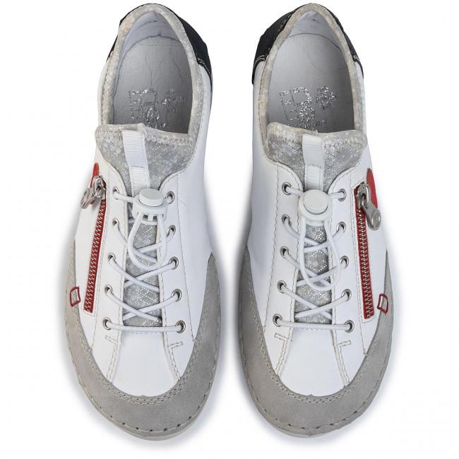 Scarpe basse RIEKER - 52563-40 White - Basse - Scarpe basse - Donna