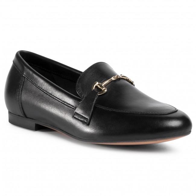 Loafers GINO ROSSI - E020-23409PE Black