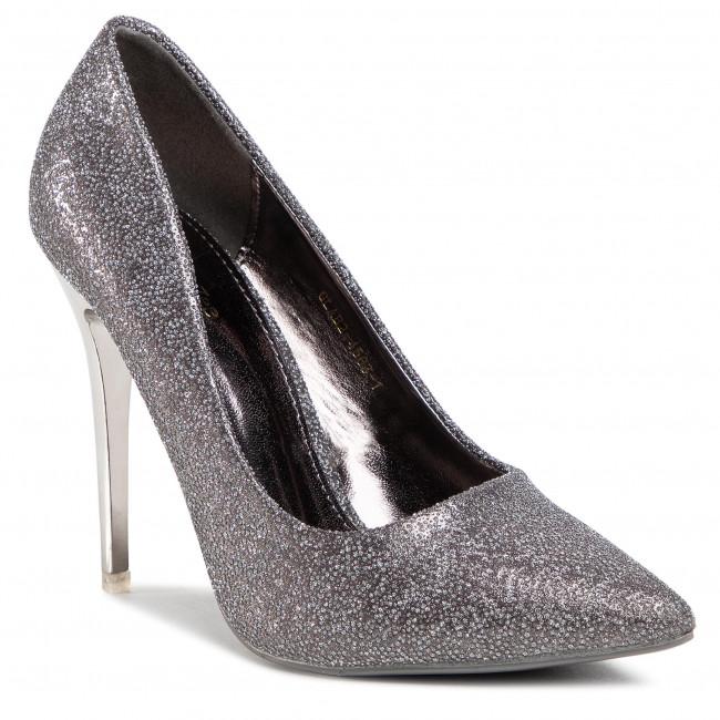 Scarpe stiletto DEEZEE - GLAB2-4503-1 Silver