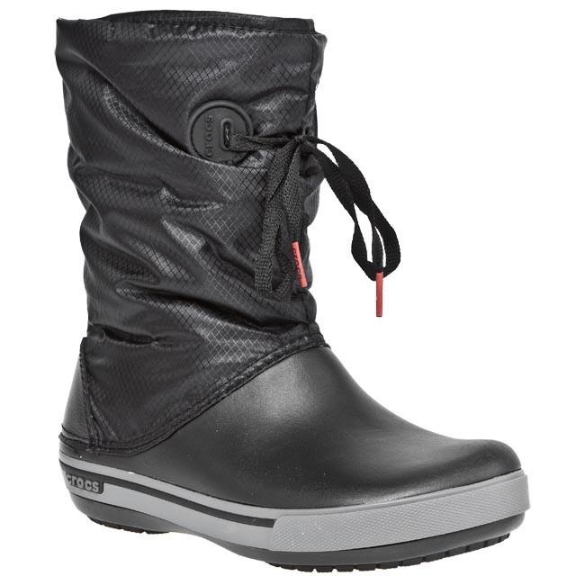 Stivali da neve CROCS - Crocband II.5 Lace Boot W 14545 Black/Charcoal
