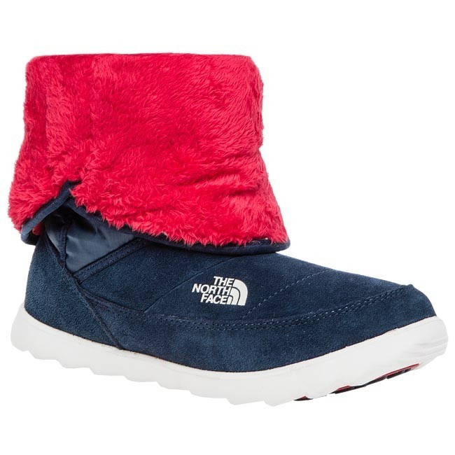Stivali THE NORTH FACE - Sopris TOA0Y2G5H-6 Shiny Cosmic Blue Tnf Red