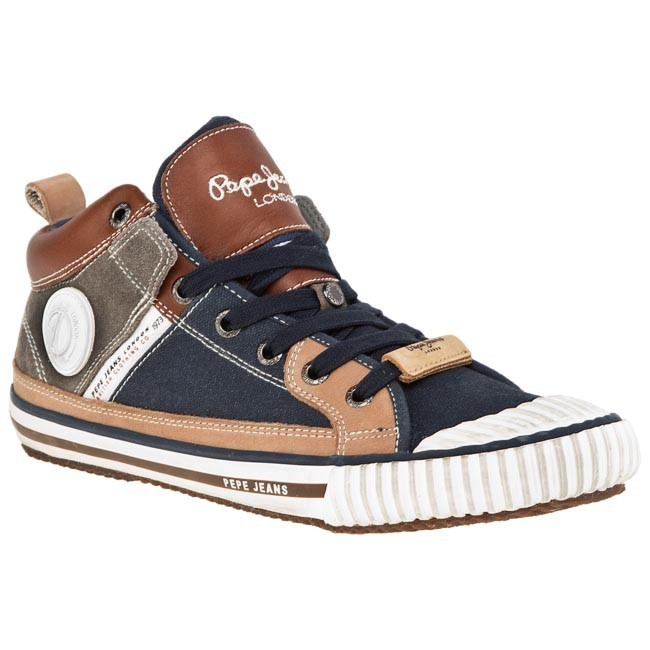 No PEPE JEANS Blu Marrone