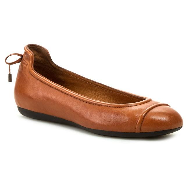geox scarpe donne saldi, donna ballerine geox lola a marrone
