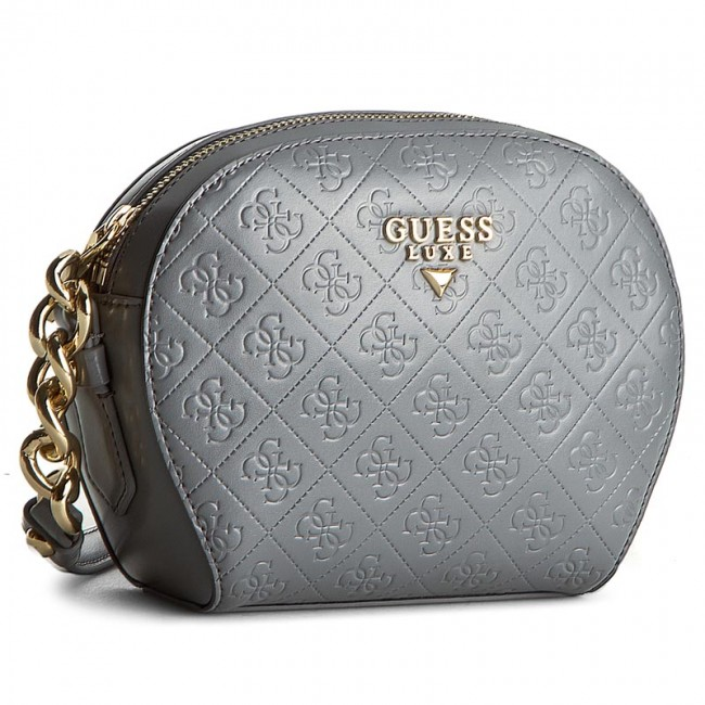 Borsa guess leila (vg) mini escarpe neri
