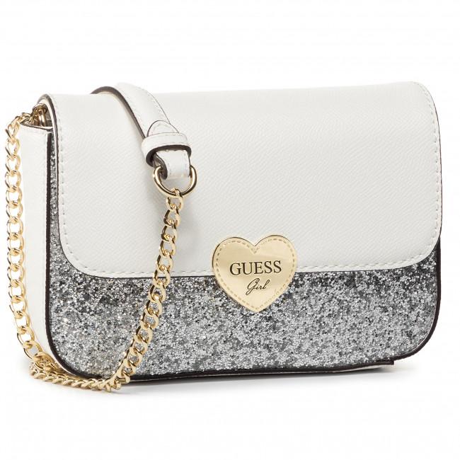 Handbag GUESS Allie HGALL3 PU202 WHITE
