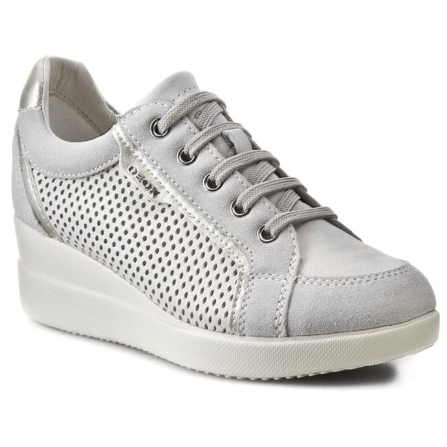 b2d1311ff0abae Sneakers GEOX - D Stardust A D5230A 0CL22 C1002 Off White - Sneakers -  Scarpe basse - Donna - escarpe.it