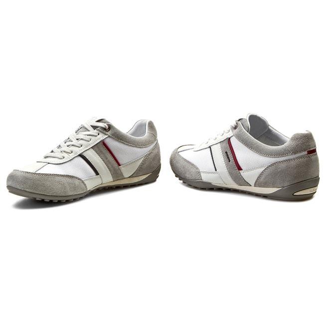 Sneakers GEOX U Wells C U52T5C 02211 C0130 WhiteIce