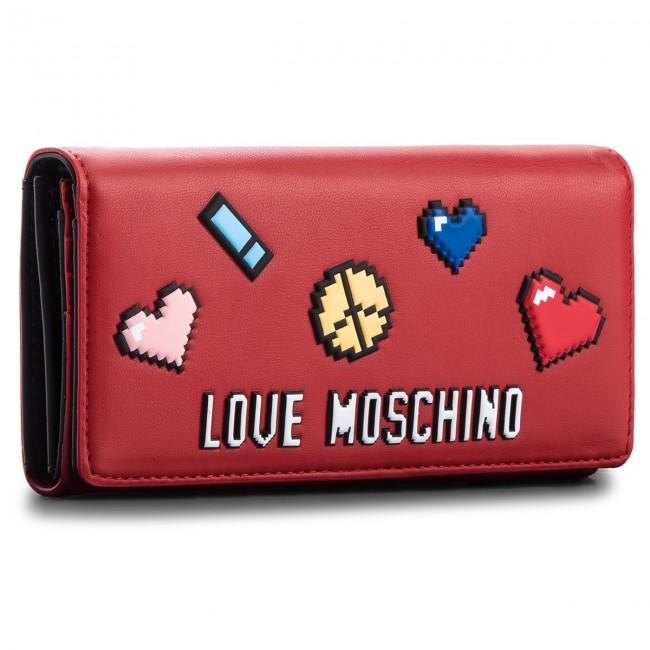 7277707481 Portafoglio grande da donna LOVE MOSCHINO - JC5522PP15LH0500 Rosso ...