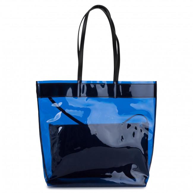 Borsa PATRIZIA PEPE - 2V9045/A3LD-C773 Fluo Blue - Shopper - Borse